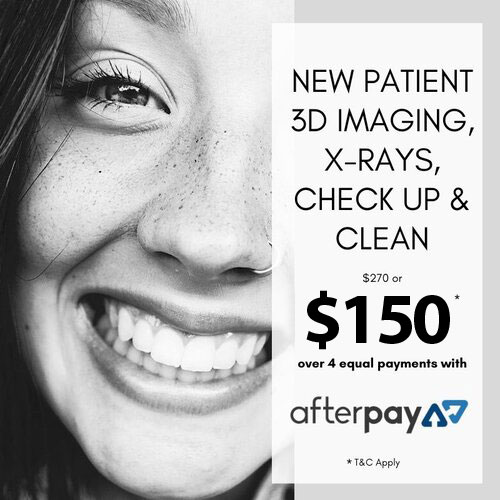 New Patient 3D Imaging X-Rays