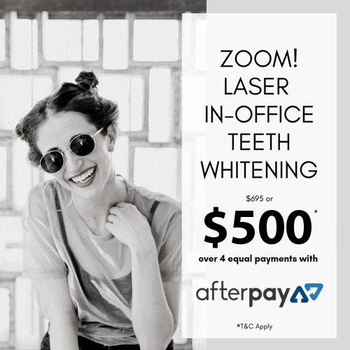Zoom Laser In Office Teeth Whitening